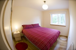 Loch Leven Seafood Cottage double bedroom